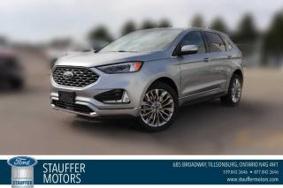 New 2021 Ford Edge Titanium for sale in Tillsonburg, ON
