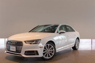Used 2018 Audi A4 2.0T Progressiv 7sp S tronic for sale in Langley City, BC