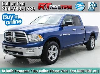 Used 2011 RAM 1500 SLT for sale in Winnipeg, MB