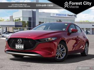 Used 2019 Mazda MAZDA3 GS - Heated Seats/Wheel - One Owner - Clean CarFax for sale in London, ON