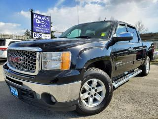 Used 2010 GMC Sierra 1500 SLE, CREW, 4X4, LOCAL for sale in Surrey, BC