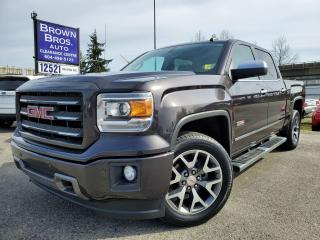 Used 2015 GMC Sierra 1500 SLT, CREW, no accidents for sale in Surrey, BC