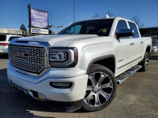 Used 2018 GMC Sierra 1500 DENALI, CREW, 4x4, NO ACCIDENTS for sale in Surrey, BC