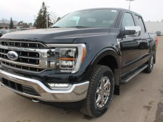New 2021 Ford F-150 LARIAT | 502a | CHROME Pkg | Trailer Tow | NAV | Leather Seats for sale in Edmonton, AB