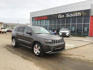Used 2014 Jeep Grand Cherokee SRT8, 4WD, LAGUNA LEATHER for sale in Edmonton, AB