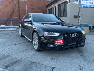 Used 2013 Audi S4 S LINED for sale in Scarborough, ON