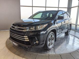 Used 2017 Toyota Highlander Limited | 3rd Row | H&C Seats | No Accidents for sale in Edmonton, AB