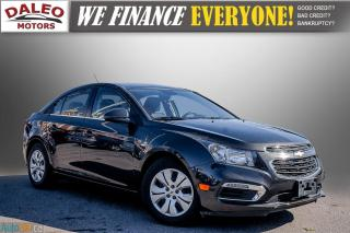 Used 2015 Chevrolet Cruze 1LT / BACK UP CAM / BUCKET SEATS / for sale in Hamilton, ON