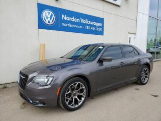 Used 2018 Chrysler 300 300 S - LEATHER HTD SEATS / PUSH START / BACKUP CAM for sale in Edmonton, AB