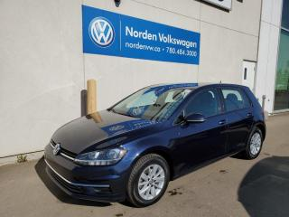 Used 2018 Volkswagen Golf TRENDLINE 5DR AUTO - HTD SEATS / BACKUP CAM / CAR PLAY for sale in Edmonton, AB