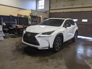 Used 2017 Lexus NX 200t F-sport 3/1 Owner/No Accident/Heads up Display for sale in North York, ON