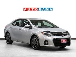 Used 2015 Toyota Corolla S Sunroof Backup Camera Heated Seats for sale in Toronto, ON
