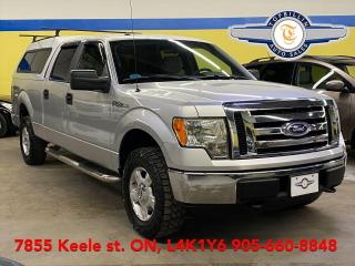 Used 2010 Ford F-150 4X4 Only 82K km,Crew Cab, 2 Years Warranty for sale in Vaughan, ON