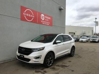 Used 2016 Ford Edge SPORT/FORD SYNC/REMOTE STARTER/20' WHEELS/DRIVER ASSIST for sale in Edmonton, AB