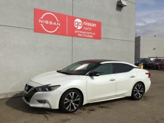 Used 2018 Nissan Maxima SV/V6/REAR SONAR/PUSH START/BOSE AUDIO/ for sale in Edmonton, AB