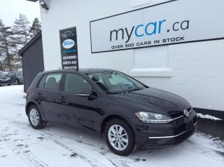Used 2019 Volkswagen Golf 1.4 TSI Comfortline ALLOYS, HEATED SEATS, BACKUP CAM, BLUETOOTH!! for sale in Kingston, ON