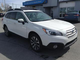 Used 2017 Subaru Outback 3.6R Limited 3.6R LEATHER, SUNROOF, NAV, BEAUTIFUL!! for sale in Kingston, ON