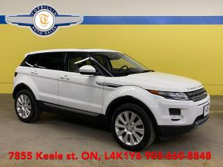 Used 2014 Land Rover Range Rover Evoque Pure Plus AWD, Sky Roof, 2 Years Warranty for sale in Vaughan, ON
