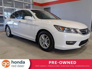 Used 2014 Honda Accord Sedan EX-L for sale in Red Deer, AB