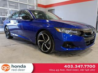 New 2021 Honda Accord Sedan SPORT 2.0 for sale in Red Deer, AB