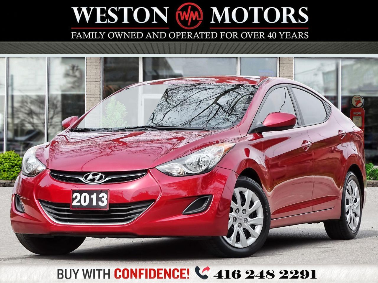2013 Hyundai Elantra GLS*2.0L*HEATED SEATS*GREAT SHAPE!