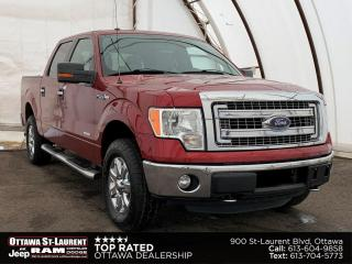 Used 2013 Ford F-150 XLT FACTORY TRAILER BRAKE, EVERSE CAMERA, 6 PASSENGER SEATING for sale in Ottawa, ON