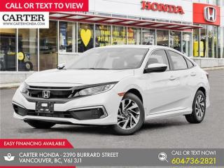 New 2021 Honda Civic EX for sale in Vancouver, BC