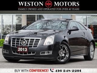 Used 2013 Cadillac CTS 3.6L*PREMIUM*AWD*LEATHER*SUNROOF*NAVI for sale in Toronto, ON
