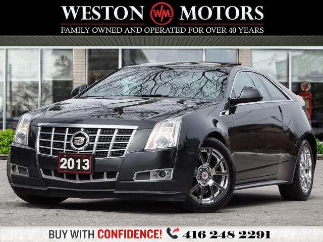2013 Cadillac CTS 3.6L*PREMIUM*AWD*LEATHER*SUNROOF*NAVI