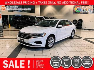 Used 2020 Volkswagen Passat Highline - Accident Free / Local / One Owner / Sunroof for sale in Richmond, BC
