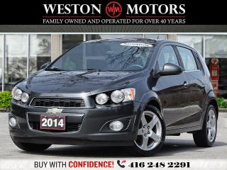 Used 2014 Chevrolet Sonic LT*1.8L*SUNROOF*REVERSE CAMERA for sale in Toronto, ON