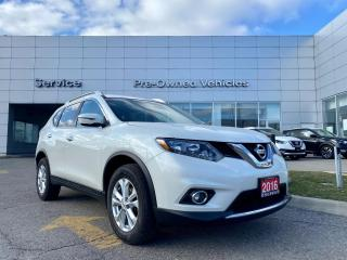 Used 2016 Nissan Rogue SV WELL MAINTAINED CLEAN CARFAX TRADE WITH ONLY 57581 KMS AND AFTERMARKET KATZKIN LEATHER. for sale in Toronto, ON