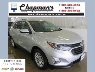 Used 2019 Chevrolet Equinox 1LT Two Sets of Tires and Rims, Remote Start, Power Sunroof for sale in Killarney, MB
