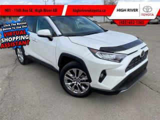 Used 2019 Toyota RAV4 AWD Limited  - Leather Seats for sale in High River, AB