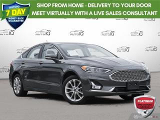 Used 2019 Ford Fusion Energi Energi Titanium | Leather | Navigation | Sunroof!! for sale in Oakville, ON