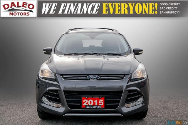2015 Ford Escape TITANIUM / BACK UP CAM / LEATHER / NAVI / PANOROOF Photo3