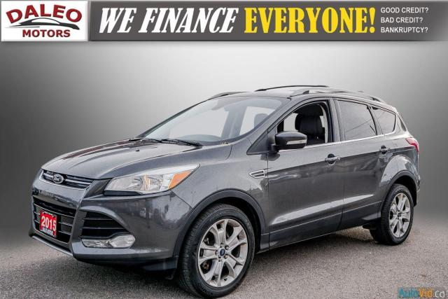2015 Ford Escape TITANIUM / BACK UP CAM / LEATHER / NAVI / PANOROOF Photo4
