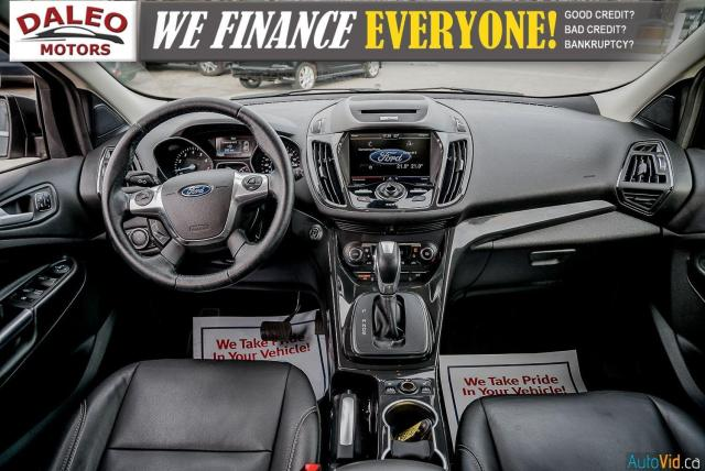 2015 Ford Escape TITANIUM / BACK UP CAM / LEATHER / NAVI / PANOROOF Photo14