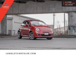 Used 2015 Fiat 500 Sport  Bluetooth/ Low KM/ Heated Seats/ Locally Driven for sale in Surrey, BC