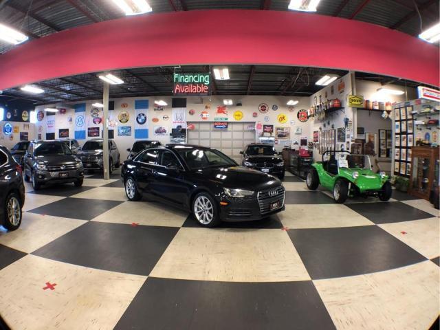2017 Audi A4 QUATTRO AUTO NAVI LEATHER BACKUP CAM SUNROOF