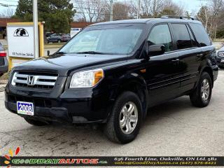 Used 2008 Honda Pilot VP|8 SEATER|NO ACCIDENT|AWD|WARRANTY|CERTIFIED for sale in Oakville, ON