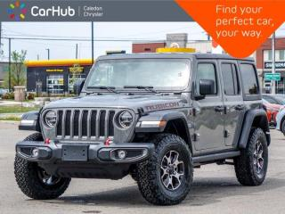 New 2021 Jeep Wrangler Unlimited Rubicon 4x4 Hard Top Backup Camera Remote Start Leather Heated Front Seats 17