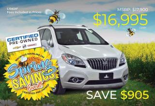 Used 2014 Buick Encore Leather for sale in Watrous, SK