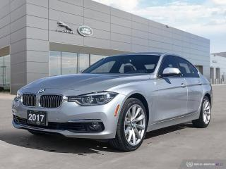 Used 2017 BMW 3 Series 330i xDrive Stylish and Sporty for sale in Winnipeg, MB