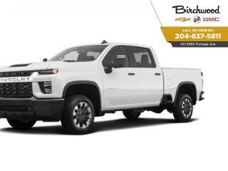 New 2021 Chevrolet Silverado 2500 HD Custom The Best Deals to come in 2021 for sale in Winnipeg, MB
