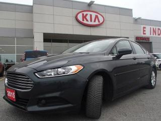 Used 2015 Ford Fusion S for sale in Nepean, ON