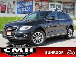 Used 2015 Audi Q5 2.0T quattro Progressiv  LEATH ROOF P/SEAT 18-AL for sale in St. Catharines, ON