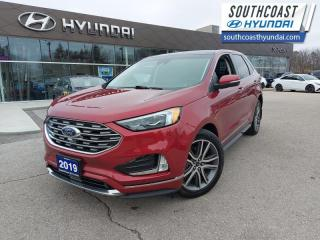Used 2019 Ford Edge Titanium AWD  - Leather Seats - $220 B/W for sale in Simcoe, ON