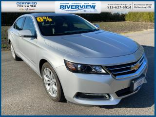 Used 2019 Chevrolet Impala 1LT Panoramic Sunroof | Heated Seats | Heated Steering Wheel | Bluetooth for sale in Wallaceburg, ON