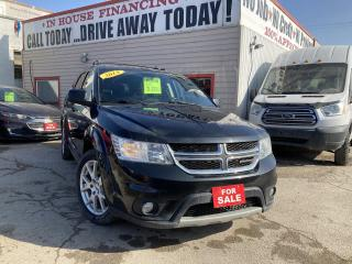 Used 2013 Dodge Journey Crew for sale in Winnipeg, MB